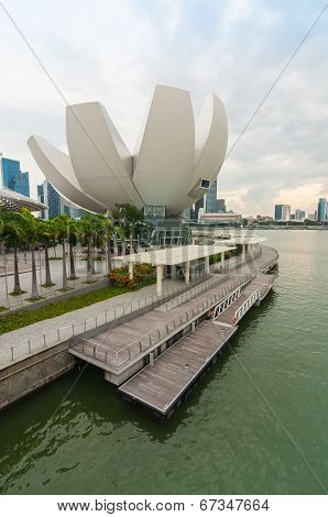 Singapore - June 13,2014 : Marina Bay Sands Hotel. One Of The Most Extravagant Hotel In The World, T