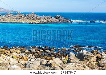Blue Water At Damas Island