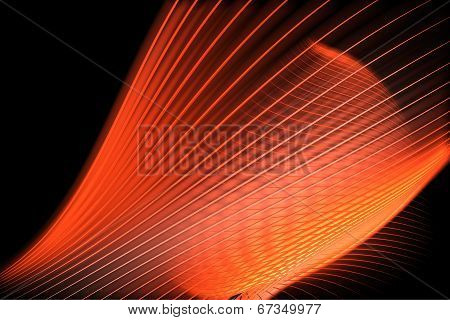 Orange Abstract Wallpaper Background