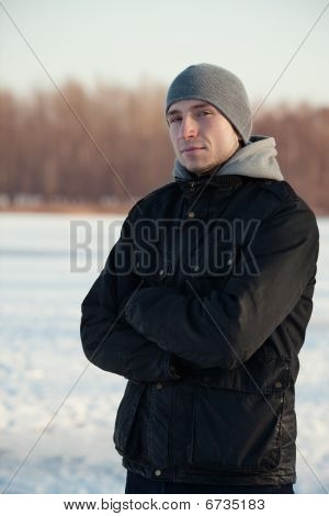 Man In Winter