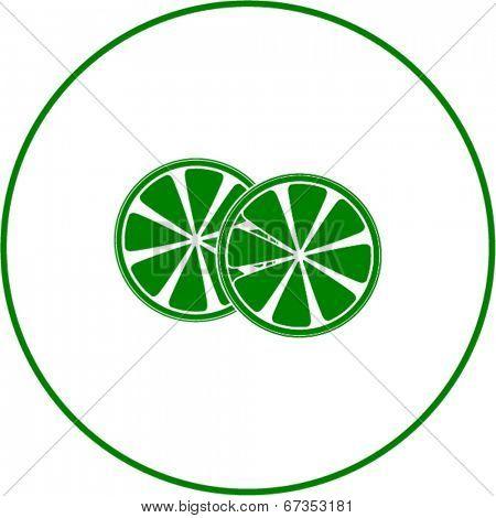 lemon slices symbol