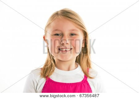the little girl with missing teeth