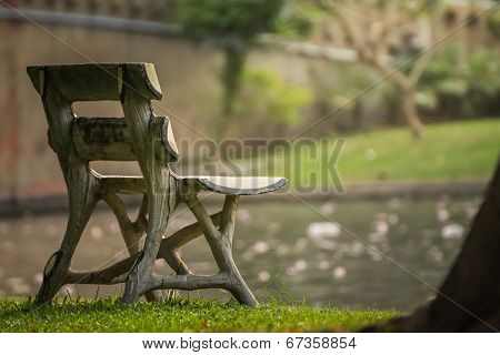 Benches, Light Gray