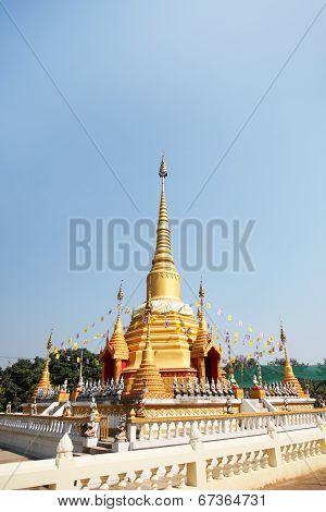 Stupa of Wat Bang Krai
