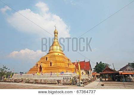 Pagoda and temple