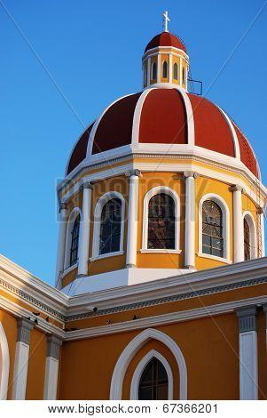 Catholic Cathedral in Granada, Nicaragua