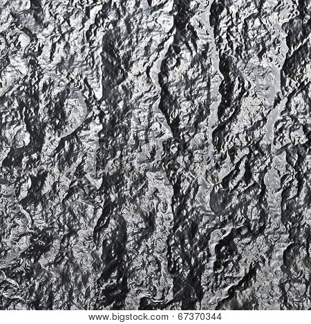 Rocky, Lava-like Material