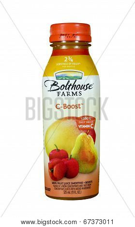Bottle Of Bolthouse Farms C-boost Drink