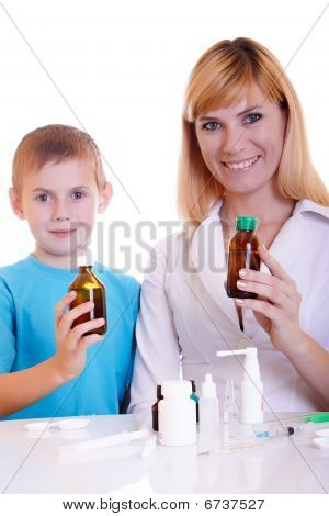 Child And Doctor