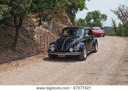 Vintage Car Volkswagen Beetle