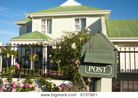 Post Box And House