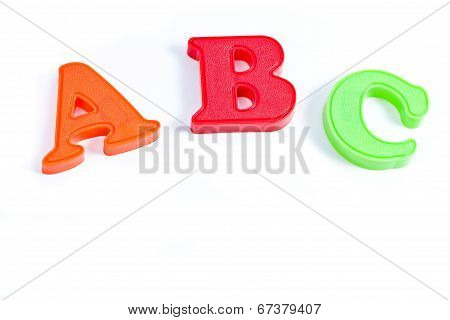 Abc Plastic Letters