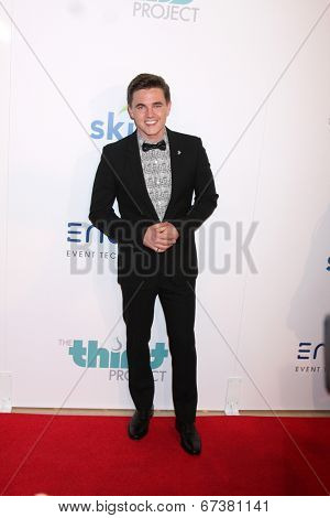 LOS ANGELES - JUN 24:  Jesse McCartney at the 5th Annual Thirst Gala at the Beverly Hilton Hotel on June 24, 2014 in Beverly Hills, CA