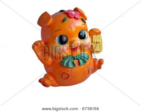 Children's Toy Pig