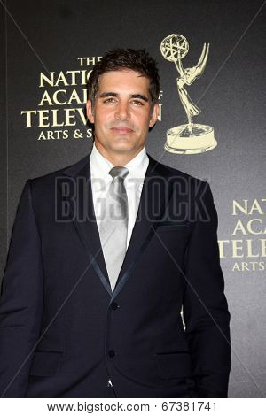 LOS ANGELES - JUN 22:  Galen Gering at the 2014 Daytime Emmy Awards Arrivals at the Beverly Hilton Hotel on June 22, 2014 in Beverly Hills, CA