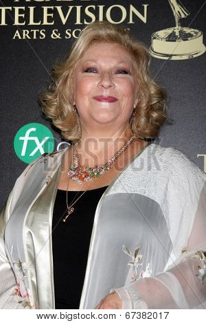 LOS ANGELES - JUN 22:  Beth Maitland at the 2014 Daytime Emmy Awards Arrivals at the Beverly Hilton Hotel on June 22, 2014 in Beverly Hills, CA