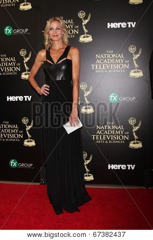 LOS ANGELES - JUN 22:  Brooke Burns at the 2014 Daytime Emmy Awards Arrivals at the Beverly Hilton Hotel on June 22, 2014 in Beverly Hills, CA