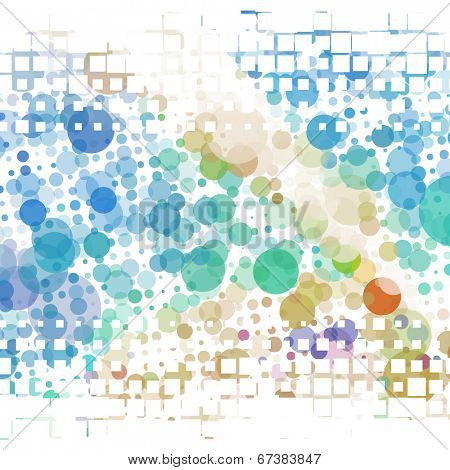 Abstract dots background. Vector illustration. Eps8.