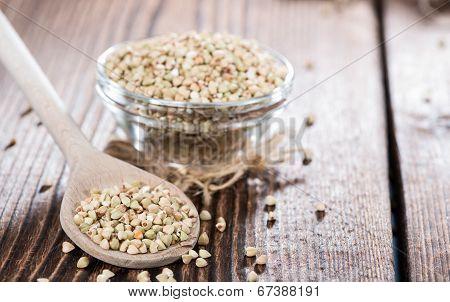 Portion Of Buckwheat