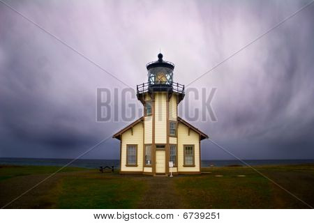 Lighthous near Fort Bragg