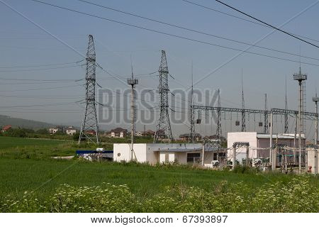 high-voltage station