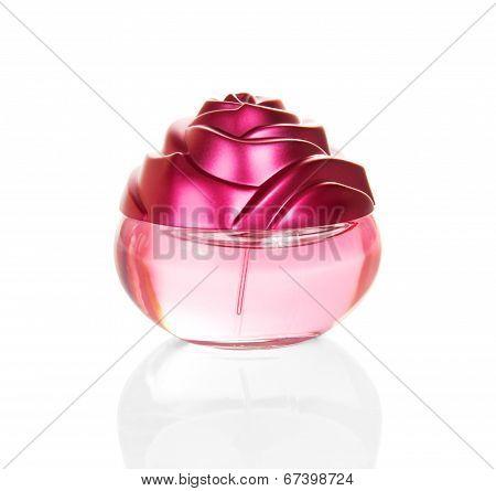 Women's perfume in beautiful bottle