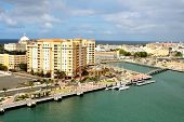 foto of san juan puerto rico  - Skyline and coastline of Old San Juan Puerto Rico