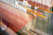 image of thread-making  - Silk production factory - JPG