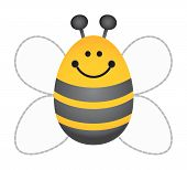 stock photo of bumble bee  - Bumble Bee - JPG