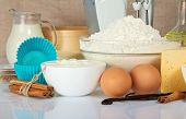 foto of cake-mixer  - Eggs - JPG