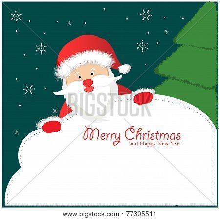 Santa Sign: Santa Claus
