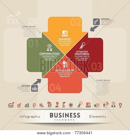 Business Teamwork Concept Graphic Element