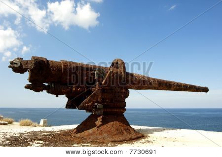old Cannon at morrow cuba