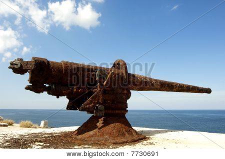 old Cannon at morrow cuba
