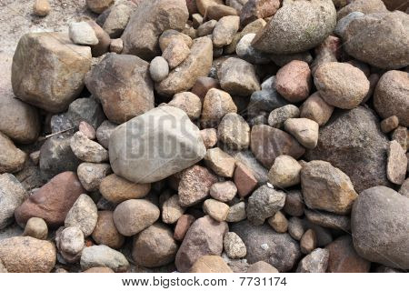 Stones as a background
