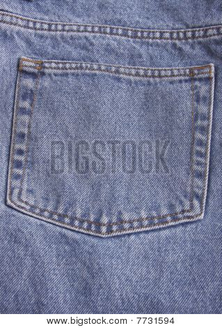 denim blue jeans pocket