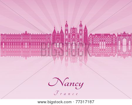 Nancy Skyline In Purple Radiant Orchid