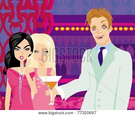 Two Gossip Women
