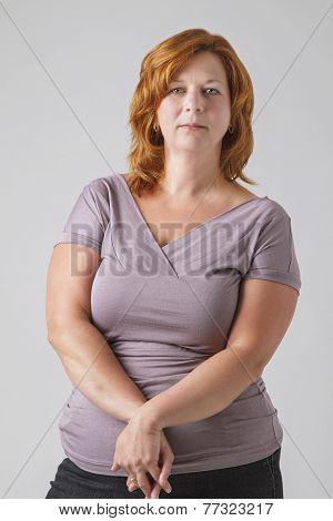 Round Woman