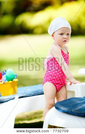 Toddler On Vacation