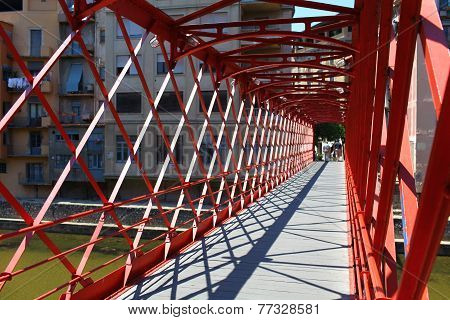red Bridge  Inside view