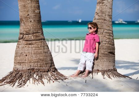 Boy In Vacation