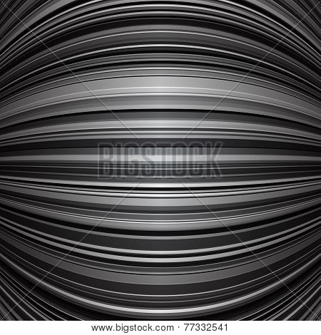 Abstract grey warped stripes background