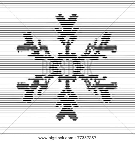 Snowflake, Optical Illusion