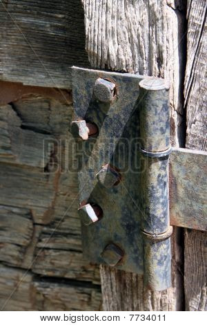 Rustic Door Hinge