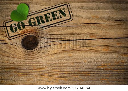 Eco Friendly Background - Go Green