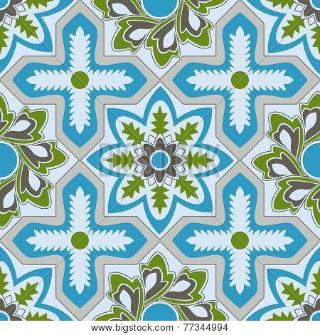 Vector arabic seamless pattern