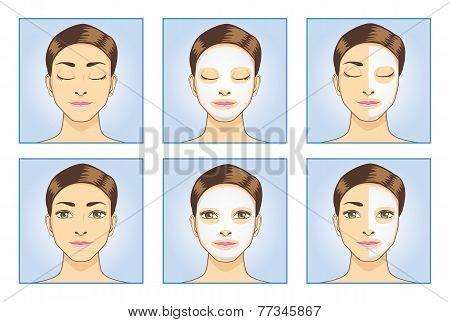Facial Mask Women  Face