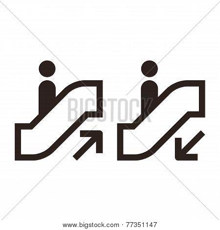 Escalator Icons