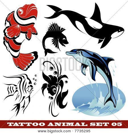 Tattoo fish